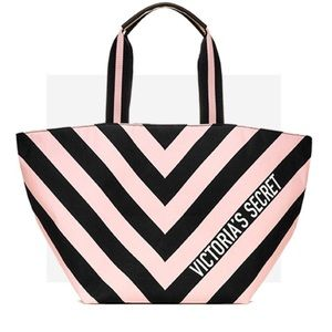 Victoria Secret Striped Tote